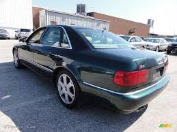 2001 audi s8 4 2 quattro racing green color ecru interior
