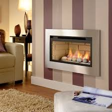 crystal boston 4 9 kw hole in the wall gas fire brushed frame