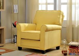 Yellow Accent Chair Flamingo Furniture Belem Yellow Accent Chair W Rolled Arms