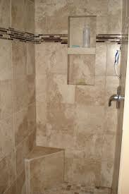 pictures of tiled showers this walkin shower is decked out with