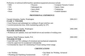 Welder Resume Sample by Welding Resume Objective Reentrycorps