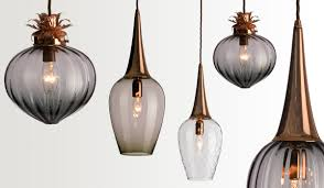 Kitchen Island Pendant Lighting Ideas Uk by Elegant Hand Blown Glass Pendant Lights 39 With Additional Glass
