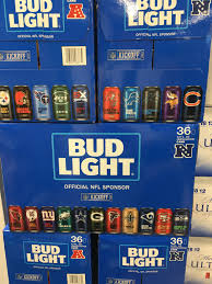 how much is a 36 pack of bud light bud light nfl logo cans franklin liquors