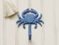 themed wall hooks crab wall hook coastal decor decor by colorfulcastandcrew