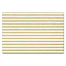 gold foil tissue paper striped pattern craft tissue paper zazzle