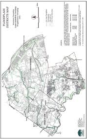 Flood Plain Map Newtown Area Zoning Jointure Pa Maps