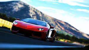 voiture de sport lamborghini fond d u0027écran lamborghini aventador rouge voiture de sport route