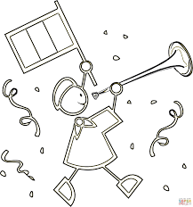 coloring french coloring page