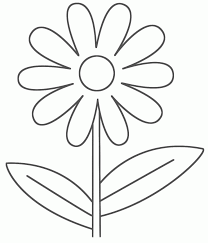 printable large flowers flower coloring pages printables clip art this pin and more on