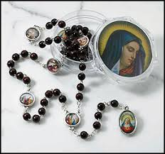 rosary of the seven sorrows seven dolores rosary seven sorrows rosary