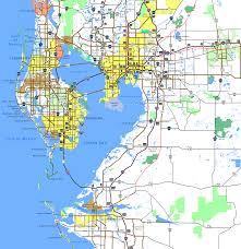 Map Of South Florida Tampa Bay Aaroads