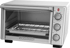 Black And Decker Home Toaster Oven Black U0026 Decker 6 Slice Toaster Oven Silver To2050s Best Buy