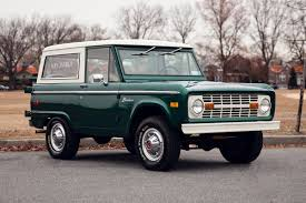 icon bronco celebrating 50 years of the ford bronco a continuous lean