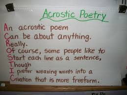 best 25 acrostic poems ideas on pinterest student gifts