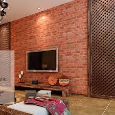 wallpaper design batu bata batu bata merah wallpaper dinding kertas vintage tahan air ruang