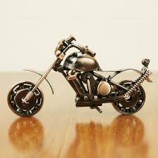 diy metal motorbike model iron motorcycle crafts 3d motor table