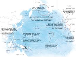 Pacific Time Zone Map Pacific Ocean Takes Perilous Turn Sea Change Ocean