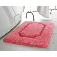 vista living blossom premium extra plush race track bath rug