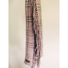 light blue burberry scarf burberry accessories light pink double fringe scarf poshmark