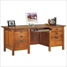 Antique Style Computer Desk Mission Style Desk Awesome Antique Oak Partners Craftsman Best 25