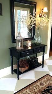 foyer table and mirror ideas foyer table and mirror ave six reflections mirrored foyer table best