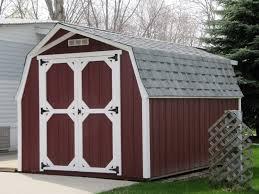 Mini Barns Michigan Quality Storage Sheds Standard Barns In Manistee Michigan