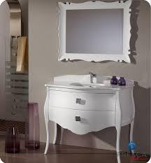 fresca fpvn7516sl bl platinum 45 inch glossy white bathroom
