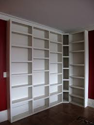 Build Corner Bookcase Diy White Corner Bookcase Design Picture 12 Laredoreads
