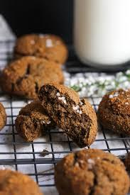 buckwheat cardamom molasses cookies dishing out health
