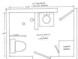 small 1 2 bathroom plans home design and decorating