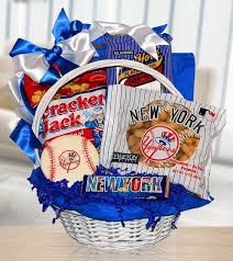 gifts for yankees fans for yankees fans gift basket of snacks by amerigiftbaskets com