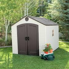 Backyard Storage House Plastic Sheds You U0027ll Love Wayfair