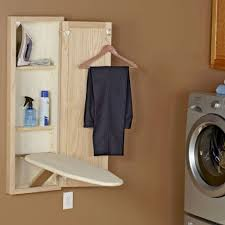 wall mount ironing board cabinet white in wall ironing board and cabinet unfinished oak in ironing boards