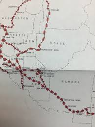 Union Pacific Route Map by Barber Park To Harris Ranch 1900 1950 Transportation Urban