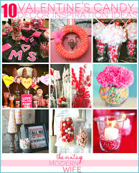 valentines decoration ideas valentine u0027s candy decor inspiration the vintage modern wife