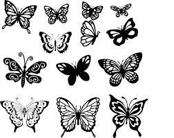 butterfly vector set coreldraw vector cdr file free