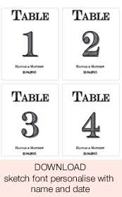 free download printable wedding table numbers stickers for wine
