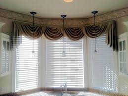 window blinds valances for windows with blinds bay window