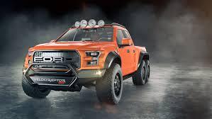lamborghini urus 6x6 hennessey u0027s velociraptor 6x6 truck looks tougher than a tardigrade