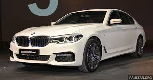 bmw g10 g30 bmw 5 series launched in malaysia 530i rm399k