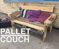 Pallet Sofa For Sale Pallet Furniture