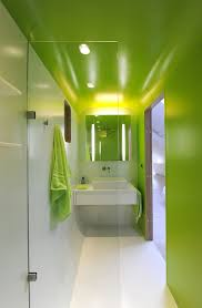 home design ambitious kempart loft project by dethier full image for fresh and fun modern bathroom design idea with sophisticated shiny green wall plus