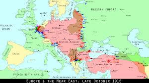 Europe After World War 1 Map by Wwi Centennial Germans Storm Romanian Passes Mental Floss
