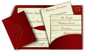 Sikh Wedding Cards Wording Pocket Fold Wedding Invitation Emails Red U0026 Gold