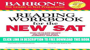 new book barron s reading workbook for the new sat critical