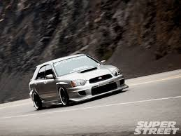 2005 subaru wrx custom 2005 subaru wrx wagon the transporter super street magazine