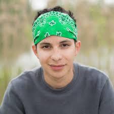 mens headband mens headband green bandana wide headband bandanna specifically