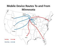 Identity Map Feds Bust Worldwide Identity Theft Phone Ring In Minnesota