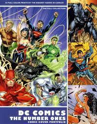dc comics the number ones comic cover portfolio set 2011 comic books