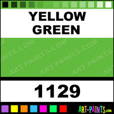 yellow green opaque watercolor paints 1129 yellow green paint